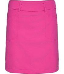 lds grace skort 50cm kort kjol rosa abacus