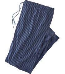 pyjamabroek, blauw-jeansblauw m