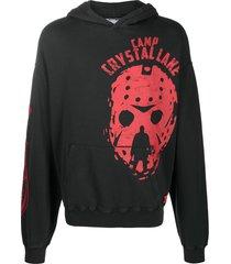 formy studio camp crystal lake hoodie - black