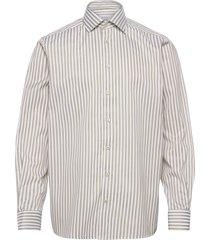 contemporary fit bengal stripe signature twill shirt skjorta business grön eton