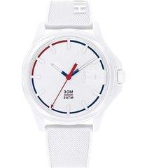 reloj análogo blanco tommy hilfiger