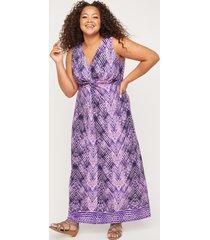 skyline breeze twist-knot maxi dress
