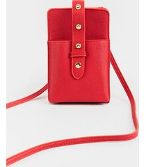 lola cellphone string wallet - red