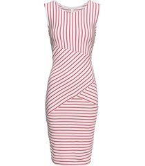abito a righe (bianco) - bodyflirt boutique