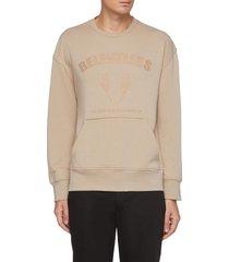 relentless slogan print sweatshirt