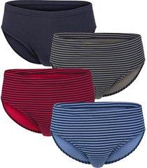 slips g gregory 1x blauw/marine,1x grijs/marine,1x rood/marine, 1x marine