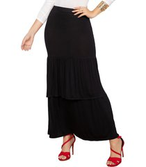falda dayana negro para mujer croydon