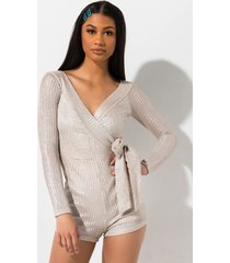 akira aint no other way off shoulder metallic romper