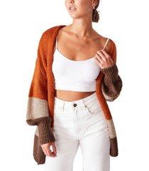 women's mid length cardigan