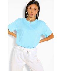 basic oversized t-shirt, turquoise