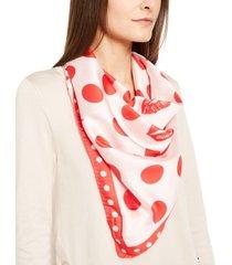 escada silk lips scarf