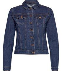 vishow denim jacket - noos jeansjacka denimjacka blå vila
