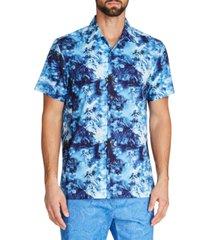 tallia men's tropical camp shirt