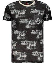 camiseta ecko especial estampada masculina
