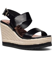 archei-sports luxe e sandalette med klack espadrilles svart ted baker