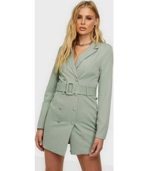 missguided belted blazer dress skater dresses