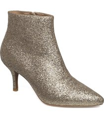 abby shoes boots ankle boots ankle boot - heel guld shoe the bear