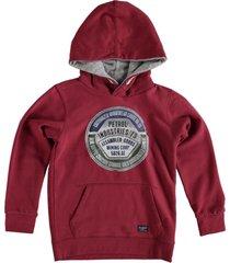 petrol rode sweater hoodie