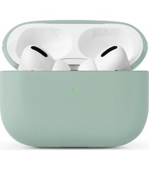 native union classic leather airpods pro case - sage