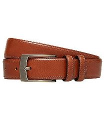 jos. a. bank leather casual belt - long