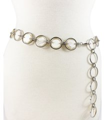 mother of pearl resin disc chain belt