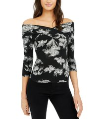 inc crisscross off-the-shoulder top, created for macy's