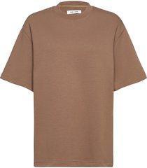 li lle t-shirt 13017 t-shirts & tops short-sleeved beige samsøe samsøe