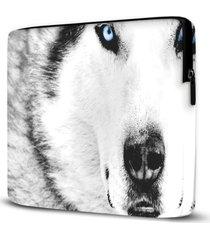 capa para notebook husky 15 polegadas - branco - dafiti