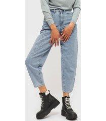 jeans vero moda celeste - calce holgado