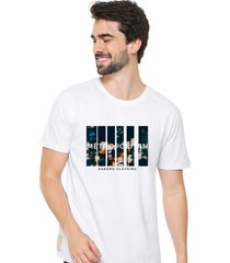 camiseta sandro clothing movement branco - branco - masculino - dafiti
