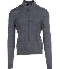 emporio armani round neck l/s sweater