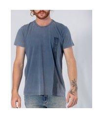 t-shirt tradicional gam gam azul