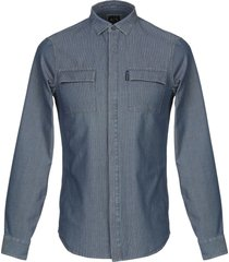 armani exchange denim shirts
