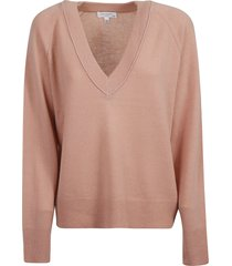 equipment madalene v-neck sweater