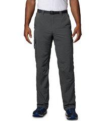 pantalón gris columbia silver ridge cargo pant