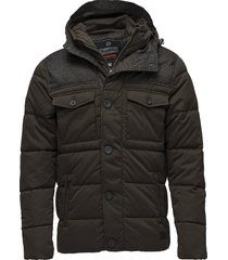 tech tweed jacket gevoerd jack groen superdry