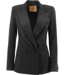 blazer markup giacca smoking jassen vrouw zwart