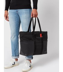 coach men's reversible pacer tote bag - black