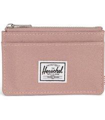 women's herschel supply co. oscar rfid card case - pink