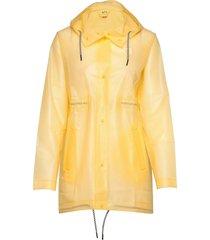 bulken jacket regenkleding geel kari traa
