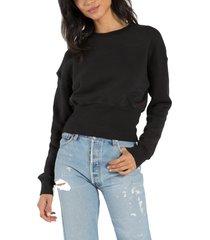 women's n:philanthropy reeves crop sweatshirt