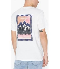 jack & jones jormanjaro tee ss crew neck t-shirts & linnen vit