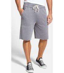 men's alternative 'victory' french terry shorts, size medium - grey