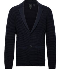 jacket gebreide trui cardigan blauw armani exchange