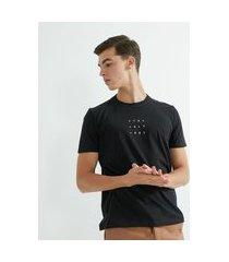 camiseta manga curta algodão estampa ctrl + alt + del   request   preto   gg