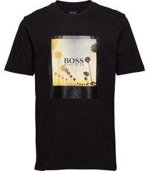 tsummer 4 t-shirts short-sleeved svart boss