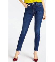 jeansy marciano fason skinny z pięcioma kieszeniami