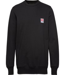 s-gir-div-p sweat-shirt sweat-shirt trui zwart diesel men