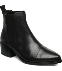 parker shoes boots ankle boots ankle boot - heel svart pavement