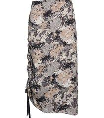 cisco knälång kjol multi/mönstrad by malene birger